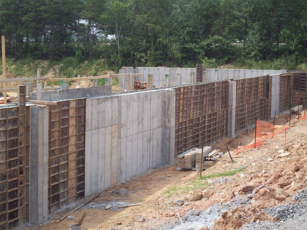 Concrete Construction In Black Mountain NC Eldridge