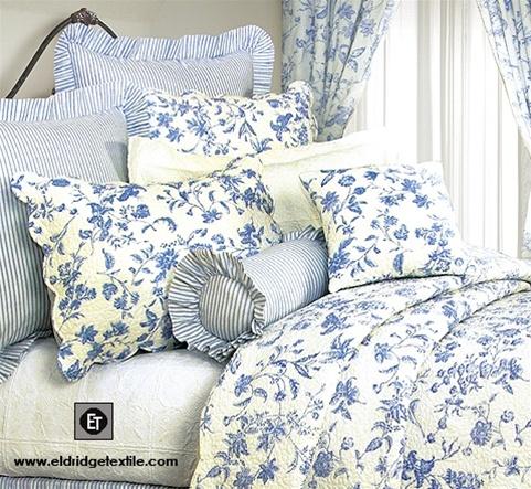 Brighton Toile Elegant Williamsburg Design Quilt 100