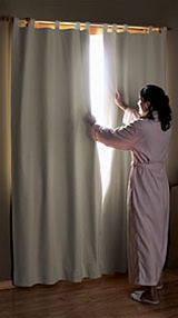 Hotel Quality Blackout Curtains Save Money On Heating Electric Cost Sleep Better Block Out