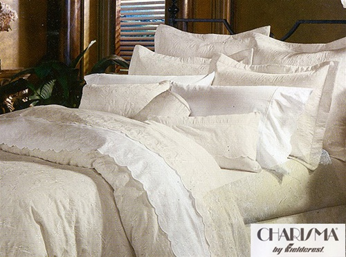 Jules By Charisma Original Charisma Linens Made In The USA Elegnat Tone On Tone All Over