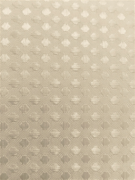 waffle fabric hookless shower curtain w liner ivory