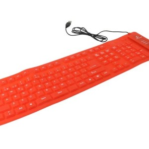 Teclado Alambrico Flexible Usb Pc Laptop Contra Agua CON NUMERICO