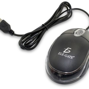 Mouse Usb Alámbrico Pc Laptop Mac Con Luz