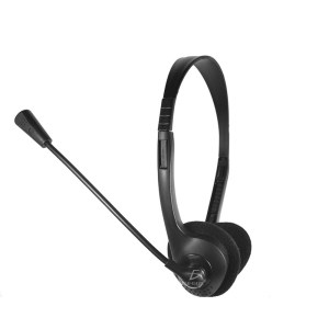 Audifono Diadema Con Micrófono 3.5mm Ajustable Para Pc