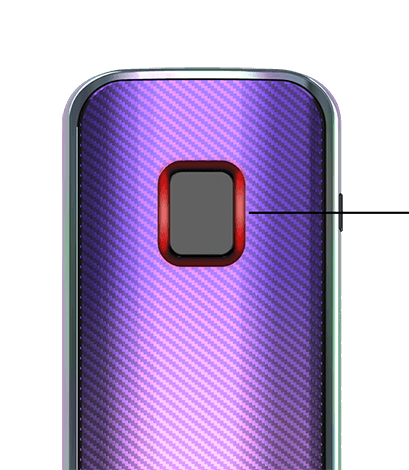 iStick Amnis 2 battery life indicators