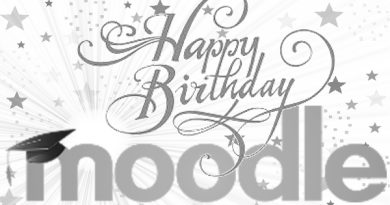 Happy Birthday Moodle image