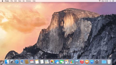 OSX Yosemite desktop