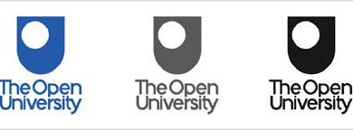 Old Open University logo