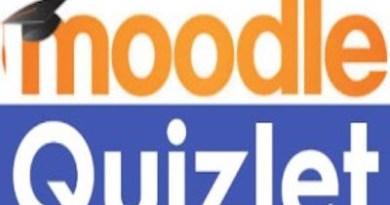 Moodle Quizlet logo