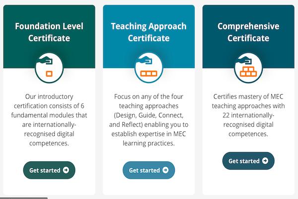 Moodle Educator Certificate (MEC)