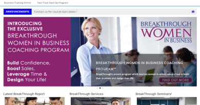 BreakThrough business Moodle site