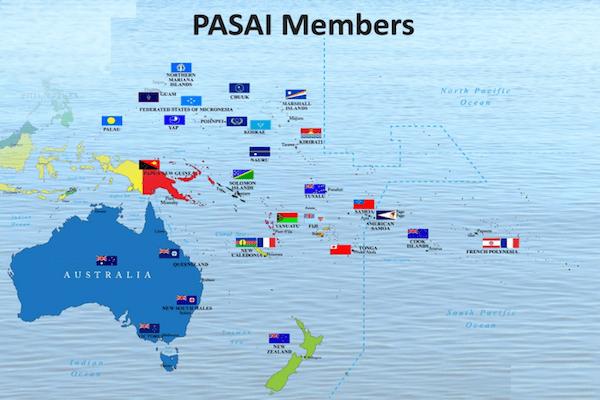 PASAI members map