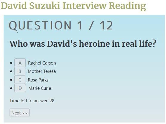 RealTime Quiz Question