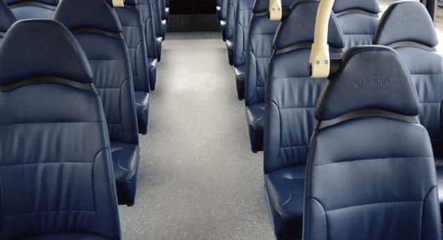Arriva Bus Seats