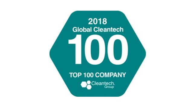 ELeather Named in Global Cleantech 100 2018 For Fourth Year Running
