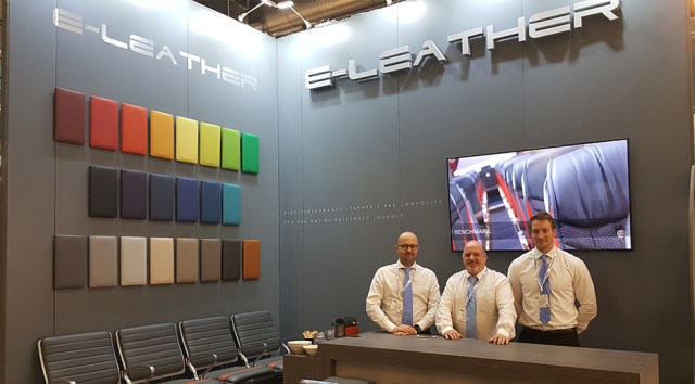 ELeather at Passenger Terminal Expo 2018