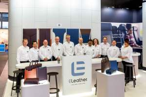 ELeather team at Aircraft Interiors Expo
