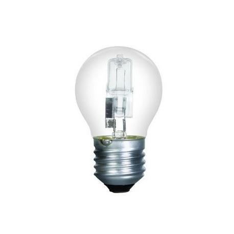 ampoule eco halogene 42w spherique o 46mm e27 230v 2800k 625lm dimmable equivalent 60w classic sylvania 0023778