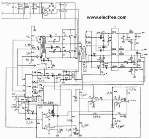 The old pc power supply circuit – Electronic projects circuits