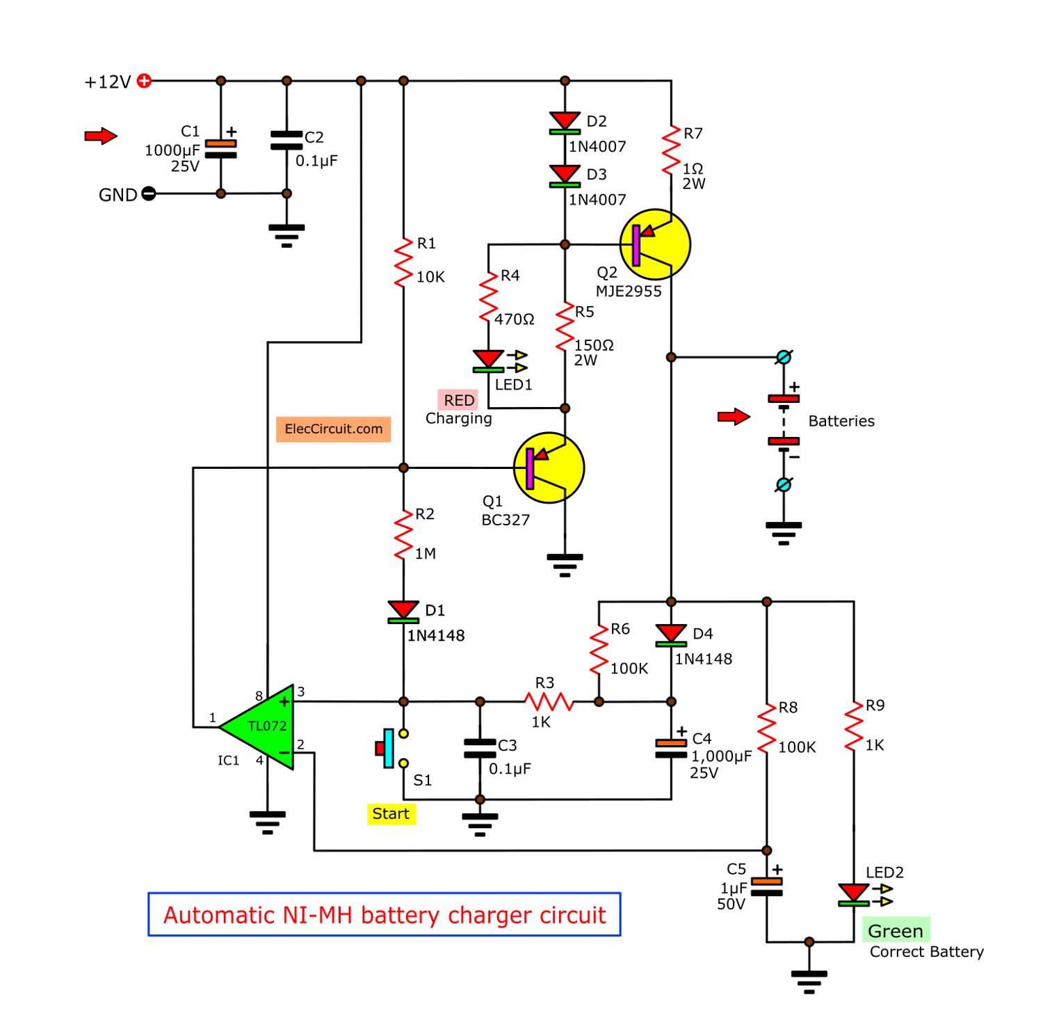 Siwire Pp3 Nimh Battery Charger Circuit Diagram
