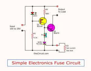 Simple Hobby Electronic Circuits ~ Electronic Circuit