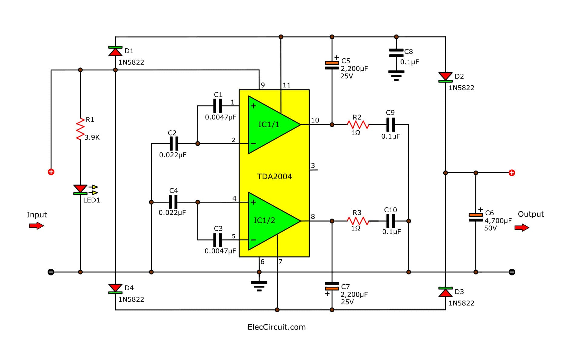 Draw Your Wiring Simple Dc To Dc Boost Up Circuit