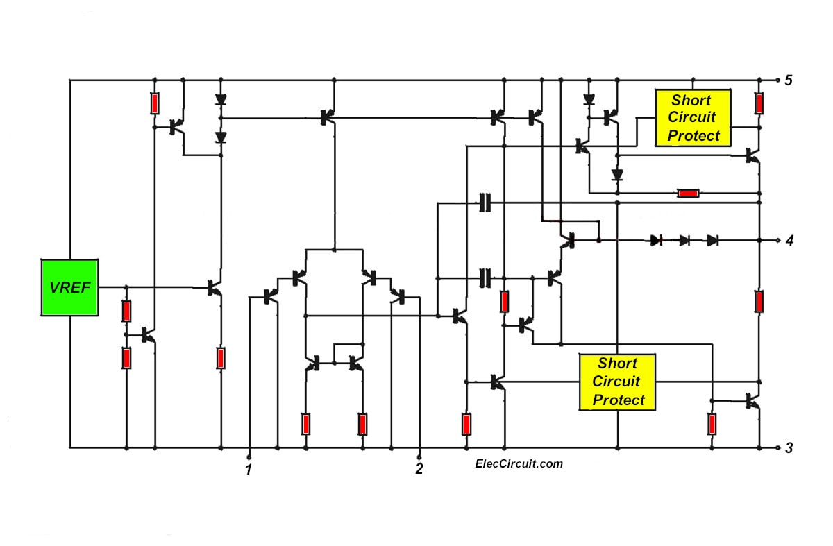 Circuit Schematic Diagram Ampli