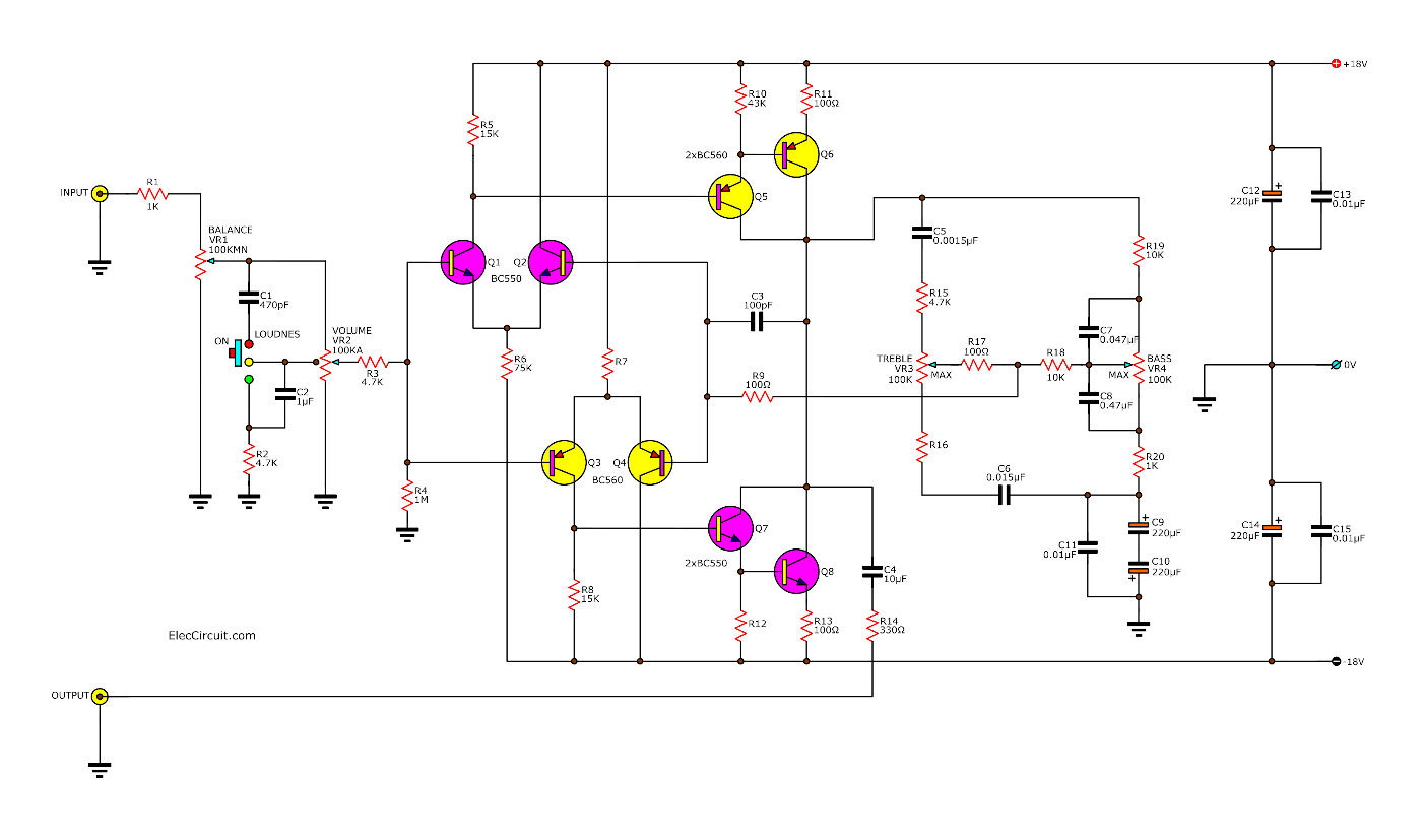 Diy Tube Phono Preamp Schematic Circuit