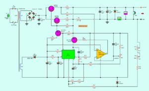 0-30V 5A power supply circuit digagram