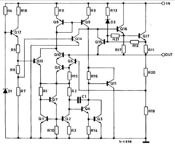 Datasheet Voltage Regulator Ic Pinout And Example