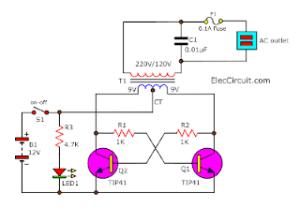 Circuit Diagram For Inverter | Wiring Diagram