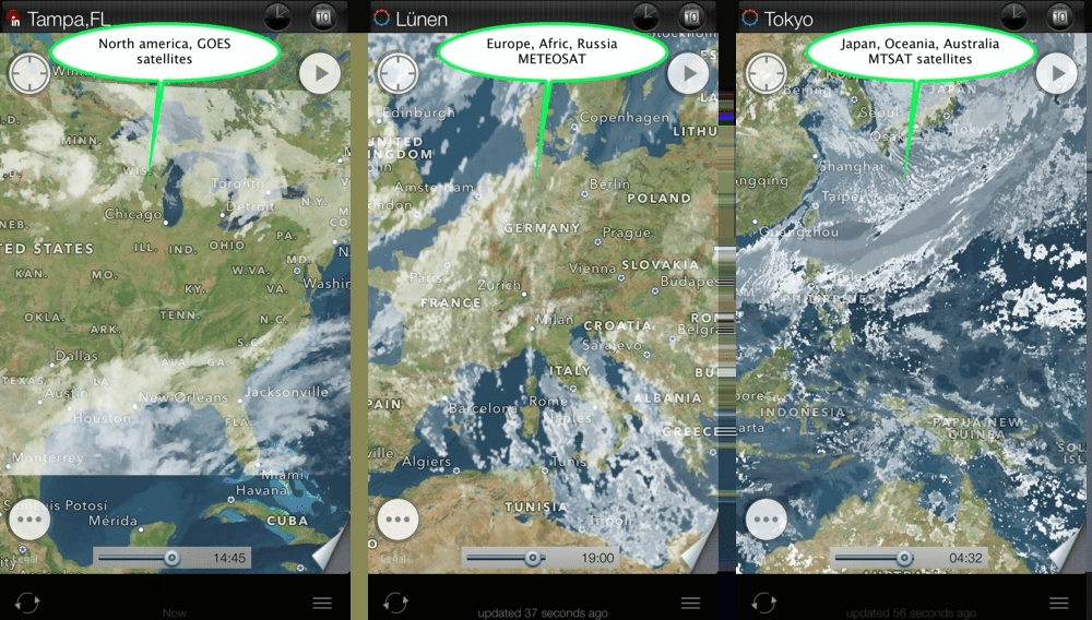 eWeather HD  weather app for iPhone and iPad user s manual  tutorial     eWeather hd weather app iphone ipad ipod hi def radar  satellite