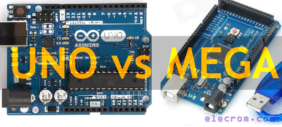 Arduino Uno vs Mega 2560 | Embedded Electronics Blog