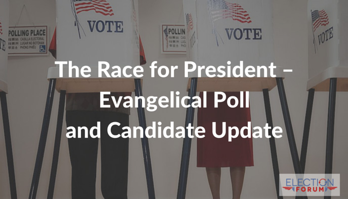 The Race for President – Evangelical Poll and Candidate Update