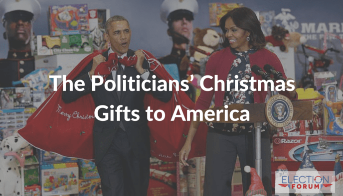 The Politicians' Christmas Gifts to America