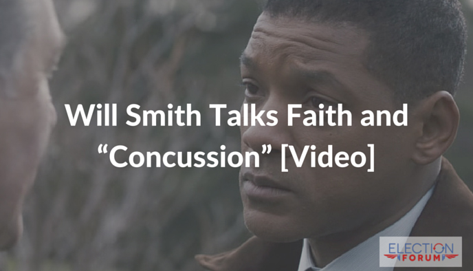 "Will Smith Talks Faith and ""Concussion"" [Video]"