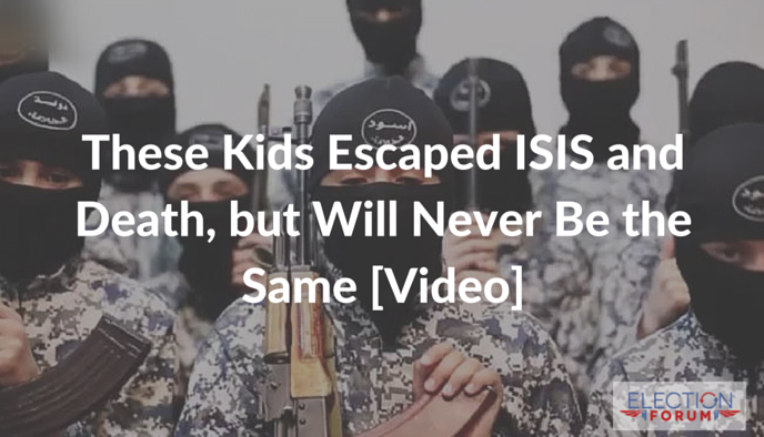 These Kids Escaped ISIS and Death, but Will Never Be the Same [Video]
