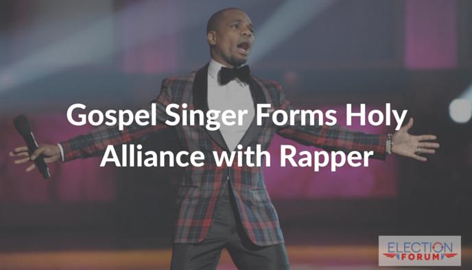 Gospel Singer Forms Holy Alliance with Rapper