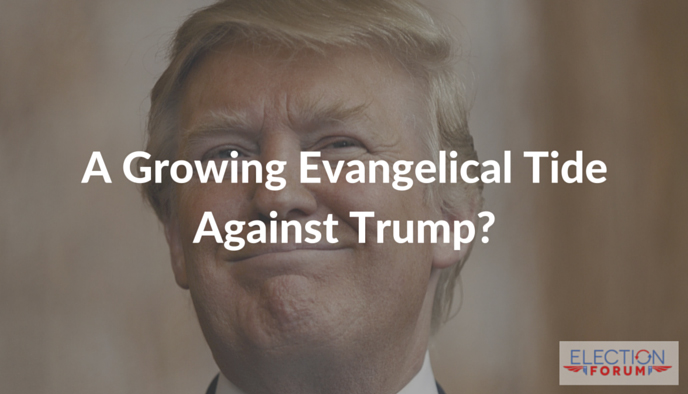 A Growing Evangelical Tide Against Trump?