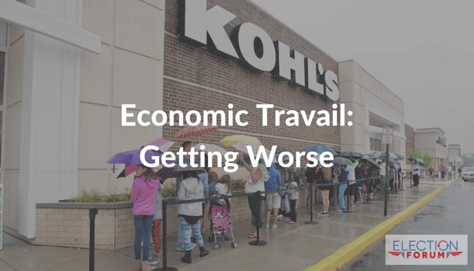 Economic Travail: Getting Worse