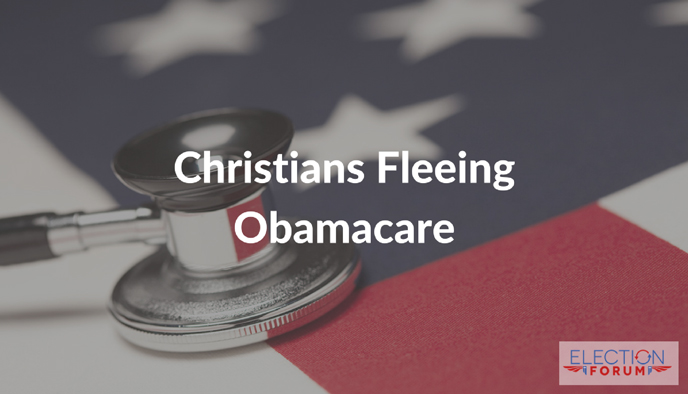 Christians Fleeing Obamacare