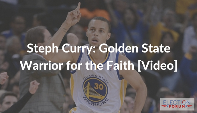 Steph Curry: Golden State Warrior for the Faith [Video]