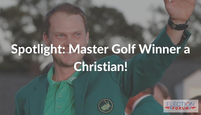 Spotlight: Master Golf Winner a Christian!