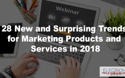 28 New and Surprising Trends for Marketing Products and Services in 2018