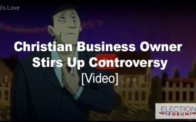 Christian Business Owner Stirs Up Controversy [Videos]