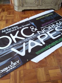 New Convention Banner for OKC Vapes