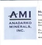 Rough photograph of logo on a business card.