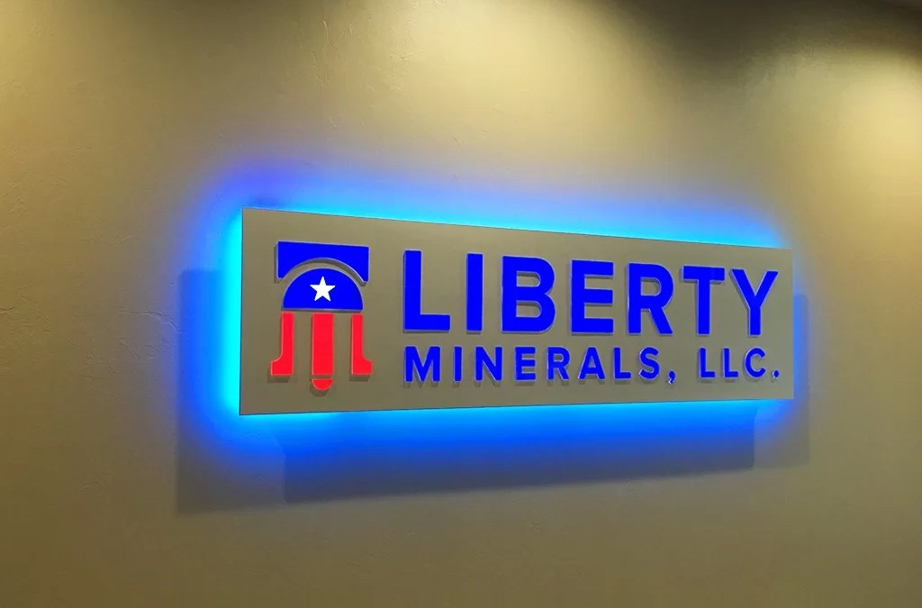 Custom Reception and Recreation Area Signs for Mineral Co.