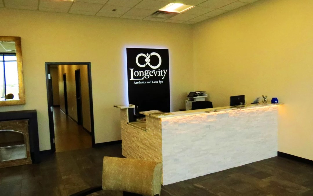 New Illuminated Sign for Laser Spa Reception Area