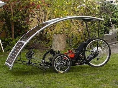cycle touring with an electric bike powered by a solar. Black Bedroom Furniture Sets. Home Design Ideas